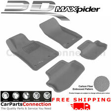 All Weather Floor Mats L1CH01701501 For Chevy Camaro 10-15 KAGU Gray Maxpider
