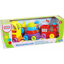 LITTLE TIKES Discover Sounds Sort & Stack Train BNIB 6 months - 2 years Activity