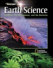 Glencoe Earth Science: Geology, the Environment, and the Universe, Student Editi