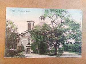 Roxburghshire THE PARISH CHURCH, KELSO Old Postcard - Wrench Series