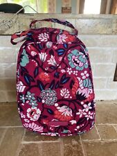 "NWT Vera Bradley Lunch Bunch Bag Insulated 11"" x 8"" Microfiber Bloom Berry"
