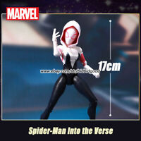 Marvel Spider Gwen Stacy Spiderman into the Verse Comic Heroes 7in Action Figure
