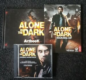 Alone In The Dark Artbook, Making Of DVD And Soundtrack