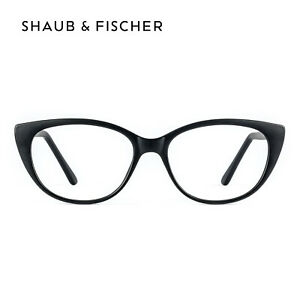 Women Cat Eye Black Reading Glasses +0.50 to +6.00