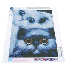 Cat DIY 5d Diamond Painting Embroidery Cross Craft Stitch Art Kit Home Decor