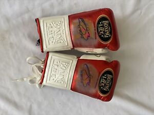 genuine gloves no boxing no life autographed by canelo alvarez
