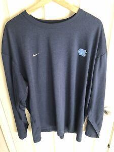 Nike UNC Tarheels Dri-Fit L/S T Shirt XXL