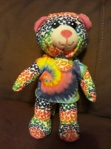 Spinmaster Rainbow Plush Bear 8 Inches