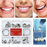 100x Dental Profilierte Metallmatrizen Matrix 2 Ring No.1.398lmws G6L9 Z8K6