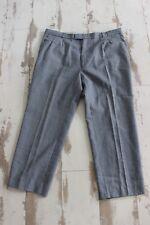 Ancien pantalon costume - Grand-Père - gris TREVIRA - T 52 - Laine