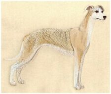 Whippet Mens Polo Shirt 100% Cotton Pique Embroidered Large Sand