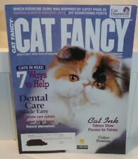 4 Cat Fancy Magazines Featuring Persians & Exotics - Purring, Calico, Tattoos