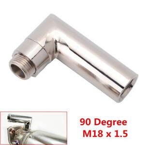 Universal O2 Oxygen Sensor Extender Spacer 90 Degree 02 Bung Extension M18 X 1.5