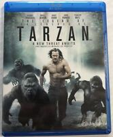 The Legend of Tarzan (Blu-ray Disc, Dvd, 2016) Canadian