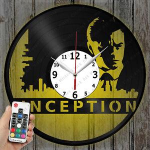 LED Clock Inception Vinyl Record Clock Art Decor Original Gift 4536