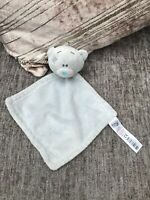 TINY TATTY TEDDY ME TO YOU TOY BLUE BABY COMFORTER BLANKET SOOTHER BLANKIE DOU