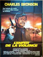 Plakat Kino HÖLLE De La Violence Charles Bronson - 120 X 160 CM