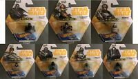 Hot Wheels Disney Star Wars Battle Rollers - Boba Fett, Darth Vader, Han Solo ++
