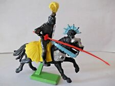 BRITAINS DEETAIL MOUNTED BLACK KNIGHT