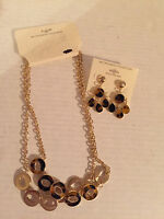 NWT, JACLYN SMITH  NECKLACE AND MATCHING EARRINGS