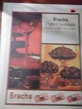 1961 VINTAGE PRINT AD BRACH'S CHOCOLATE CANDY 10X13 BRIDGE MIX, PEANUTS, STARS