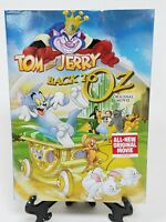 Tom and Jerry Back To Oz Original Movie DVD New Sealed Slipcover