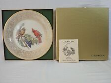 VINTAGE LENOX BOEHM BIRDS LIMITED EDITION COLLECTOR PLATE 1976 CARDINAL
