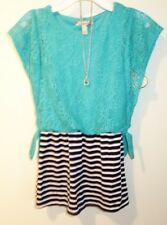 Brand New Speechless Dress and Matching Necklace Girl's Sz 10 Year