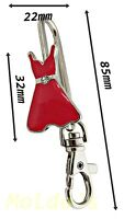 Key finder Dress charm White bag charm ring chain keyring finder gift keychain