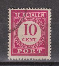 P58 Port nr 58 used gestempeld Nederlands Indie Indonesia due portzegel