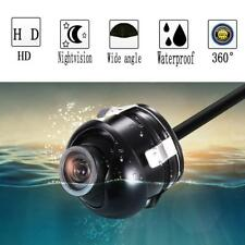 360 Degree Rotatable CCD Parking Reverse Front/Side/Rear View Camera USHK#