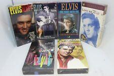 Elvis Presley VHS Tapes Movies Vintage Lot of 6 New Sealed