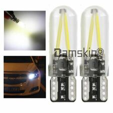 2 Stück T10 COB 3W Standlicht SMD LED Lampe Weiß Beleuchtung 6000K 12-24V