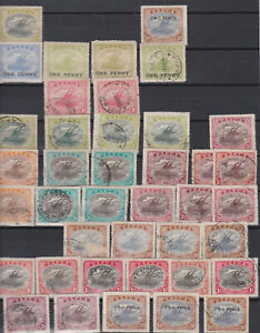 Papua Lakatois. British New Guinea Lakatois. 2 Pages Mint & Used.