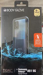 NEW Body Glove Samsung Galaxy A51 5G Black Tidal 100% Waterproof Phone Case