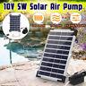 Solar Powered Oxygenator Air Pump Pond Oxygen Aerator For Aquarium Tank