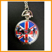 NEW The Beatles Women Ladies Girl Men Boy Fashion Pocket Watch Necklace + CHARM