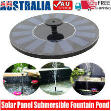 Solar Fountain Water Pump Bird Panel Garden Pond Pool Decor Submersible Watering