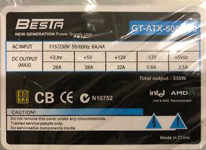 550W Heavy Duty ATX P4 PSU 8cm Fan AMD/INTEL DUAL CORE