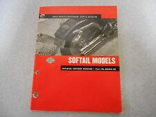 Parts catalog Teile Katalog Harley -  Davidson Softail Models Modelle 2002