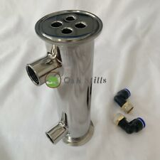 "2"" Stainless Steel Dephlegmator / Condenser for Moonshine Reflux Still Column"