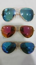 3 pairs of Ray Ban Aviator Large Metal Preowned
