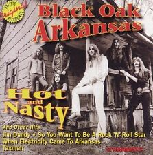 Hot & Nasty & Other Hits by Black Oak Arkansas (CD, Jun-1997,) Played Once!