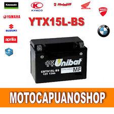 Batteria Unibat YTX15L-BS BOMBARDIER DS650 650 cc anno 00-06