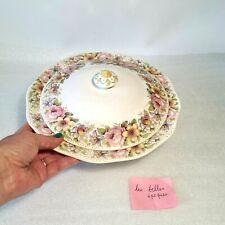 🔅 légumier, saladier couvert en porcelaine Wedgwood modèle Newport 24 cm