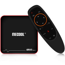 MECOOL M8S PRO W 100Mbps BT4.2 Android 7.1 TV Box with Voice Remote Control 8GB