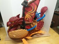 Fisher Price Imaginext Sea Serpent Viking Pirate Ship Boat Mattel