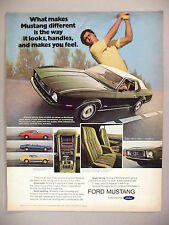 Ford Mustang PRINT AD - 1972 ~~ 1973 model