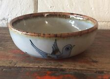 "El Palomar TONALA BLUE Tlaquepaque 6 5/8"" Cereal Coup Bowl Ken Edwards"