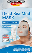 Dead Sea Mineral Mud Beauty Face Mask by Schaebens 2 X 15ml Home Spa Treatments